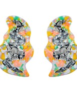 cheap -Women's Clip Earrings - Classic Rainbow For Ceremony