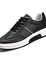 cheap -Men's PU(Polyurethane) Summer Comfort Sneakers Color Block White / Black / Red