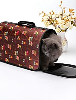cheap -Dogs / Rabbits / Cats Cages / Carrier & Travel Backpack / Shoulder Bag Pet Carrier Portable / Mini / Camping & Hiking Fashion / British / Lolita Camouflage Color / Light Blue / Black