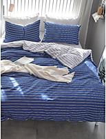 economico -Set Copripiumino Stripes / Ripples 100% cotone Con stampe 4 pezzi