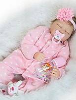 cheap -NPKCOLLECTION Reborn Doll Baby 24 inch Silicone / Vinyl - lifelike Kid's Girls' Gift