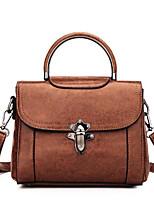 cheap -Women's Bags PU(Polyurethane) Tote Buttons Blushing Pink / Beige / Brown