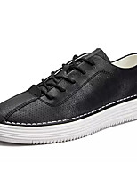 cheap -Men's PU(Polyurethane) Summer Comfort Sneakers White / Black