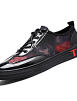 cheap -Men's PU(Polyurethane) Summer Comfort Sneakers Black / Gray / Black / Red