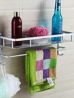 cheap -Towel Bar / Soap Dishes & Holders New Design / Multifunction Modern Aluminum / Stainless steel 1pc Single Wall Mounted
