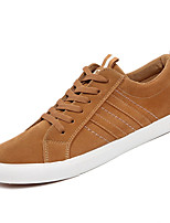 cheap -Men's Synthetics Spring / Fall Comfort Sneakers Black / Brown