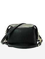 economico -borsa donna tracolla in nappa con cerniera lampo rosa / blu / nero