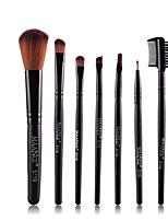 cheap -7 pcs Makeup Brushes Professional Make Up Fiber Full Coverage Plastic