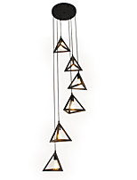 Недорогие -6-Light Мини Подвесные лампы Рассеянное освещение - Мини, Новый дизайн, Расширенный, 110-120Вольт / 220-240Вольт Лампочки не включены