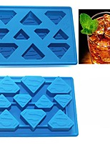 baratos -Ferramentas bakeware Silicone Faça Você Mesmo Biscoito / Gelo / Para Gelado Moldes de bolos / Ferramentas de Sobremesa 1pç