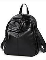 cheap -Women's Bags PU(Polyurethane) School Bag Embossed Black