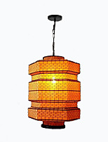 cheap -QIHengZhaoMing Lantern Chandelier Ambient Light 110-120V / 220-240V, Warm White, Bulb Included / 15-20㎡