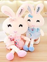 Недорогие -Rabbit Мягкие и плюшевые игрушки Очаровательный / Милый Акрил / хлопок Подарок 1 pcs