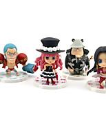 Недорогие -Аниме Фигурки Вдохновлен One Piece Monkey D. Luffy ПВХ 7 cm См Модель игрушки игрушки куклы Все