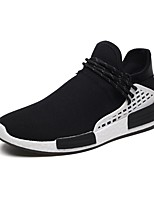 cheap -Men's Light Soles Knit Summer Comfort Sneakers White / Black / Red