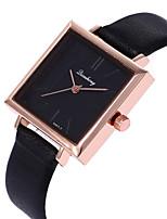 cheap -Women's Wrist Watch Casual Watch / Cool PU Band Casual / Fashion Black / White / Blue