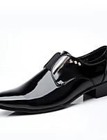 economico -Per uomo Scarpe Pelle Primavera & Autunno Comoda / Scarpe formali Mocassini e Slip-Ons Footing Nero / Serata e festa