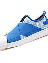 cheap -Men's PU(Polyurethane) / Elastic Fabric Fall Comfort Sneakers Black / Gray / Blue
