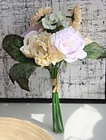 Недорогие -Искусственные Цветы 1 Филиал Классический Деревня / Modern Розы Букеты на стол