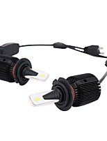 abordables -2pcs H7 Coche Bombillas 40 W LED Integrado 8000 lm 24 LED Luz de Casco For Universal Universal Universal