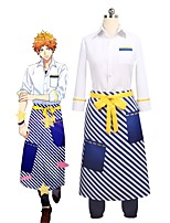 cheap -Inspired by Cosplay Cosplay Anime Cosplay Costumes Cosplay Suits Other 3/4 Length Sleeve Shirt / Pants / Apron For Unisex