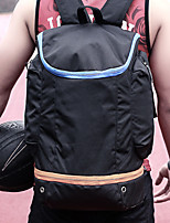 cheap -20-35 L Hiking Backpack - Wearable, Breathability Outdoor Hiking, Basketball Nylon Black