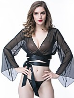cheap -All Babydoll & Slips / Gartered Lingerie / Garters & Suspenders Nightwear - Lace, Solid Colored