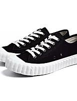 economico -Per uomo Scarpe Di corda / Tessuto Estate Comoda Sneakers Bianco / Nero / Beige