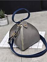 cheap -Women's Bags PU(Polyurethane) Wristlet Zipper Black / Gray / Brown