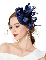 cheap -Women's Vintage / Elegant Headband / Hair Clip / Fascinator - Solid Colored Bow