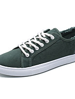 cheap -Men's Light Soles Canvas Spring &  Fall Light Soles Sneakers Black / Orange / Green