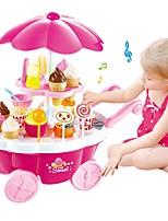 cheap -Pretend Play Ice Cream / Sweet Candy Shop Plastic Shell Preschool Gift 39 pcs
