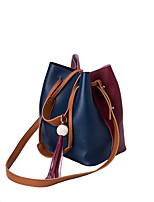 cheap -Women's Bags PU(Polyurethane) Shoulder Bag Zipper / Tassel White / Red