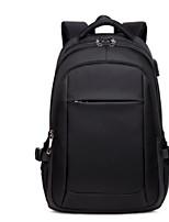 cheap -Unisex Bags Canvas Backpack Zipper Blue / Black / Red