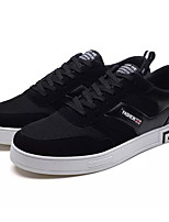 cheap -Men's PU(Polyurethane) Summer Comfort Sneakers Black / Black / White / Black / Red