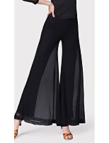 cheap -Latin Dance Bottoms Women's Training Milk Fiber Gore Natural Pants
