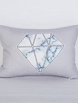 cheap -1 pcs Polyester Pillow Cover, Solid Colored