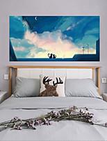 cheap -Decorative Wall Stickers / Door Stickers - Plane Wall Stickers / 3D Wall Stickers Abstract / Landscape Living Room / Bedroom