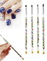 Недорогие -5 Инструмент для ногтей Кисти для ногтей Цветной маникюр Маникюр педикюр Ретро На каждый день / фестиваль