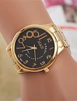 Недорогие -L.WEST Жен. Наручные часы Китайский Повседневные часы сплав Группа На каждый день / Мода Золотистый
