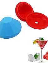 cheap -Bakeware tools Silicone 3D / DIY For Ice / Ice Cream Cake Molds / Dessert Tools 1pc