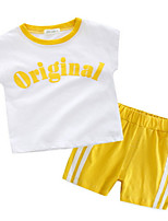 cheap -Toddler Boys' Solid Colored Sleeveless Clothing Set