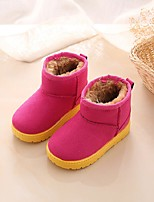cheap -Girls' Shoes PU(Polyurethane) Winter Snow Boots Boots Walking Shoes for Kids Fuchsia / Booties / Ankle Boots