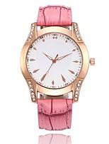 baratos -Mulheres Relógio Elegante / Relógio de Pulso Chinês Relógio Casual PU Banda Casual / Fashion Preta / Branco / Azul