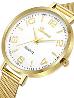 cheap -Geneva Women's Dress Watch / Wrist Watch Chinese New Design / Casual Watch / Cool Alloy Band Casual / Fashion Gold / Rose Gold