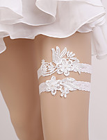 cheap -Lace Stylish / Romantic Wedding Garter 617 Hollow-out Garters Wedding / Party Evening