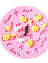 cheap -Bakeware tools Silicone Creative / Halloween / DIY For Cookie / For Chocolate / For Candy Cake Molds / Cookie Cutters / Dessert Tools 1pc