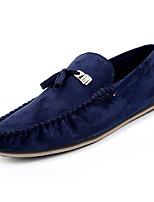 Недорогие -Муж. обувь Полиуретан Осень Мокасины / Обувь для дайвинга Мокасины и Свитер Черный / Синий