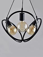 Недорогие -CONTRACTED LED 3-Light Шары / Оригинальные Люстры и лампы Потолочный светильник - Мини, Очаровательный, Регулируется, 110-120Вольт /