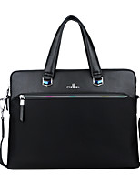 cheap -Men's Bags PU(Polyurethane) Shoulder Bag Zipper Black